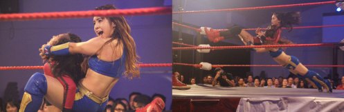Alexis Lee goes head to head with Reika Saiki at Oriental Storm.