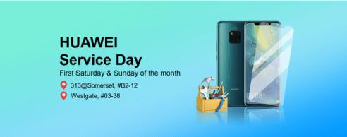 Huawei Service Day via Huawei Press Release