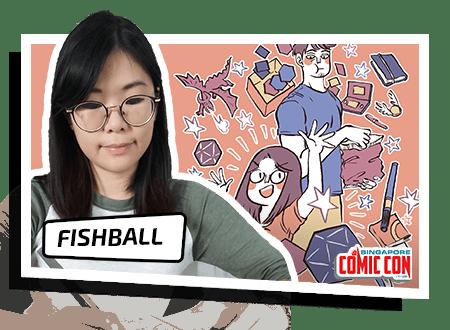 Fishball, creator of My Giant Nerd Boyfriend. Courtesy of SGCC and Fishball