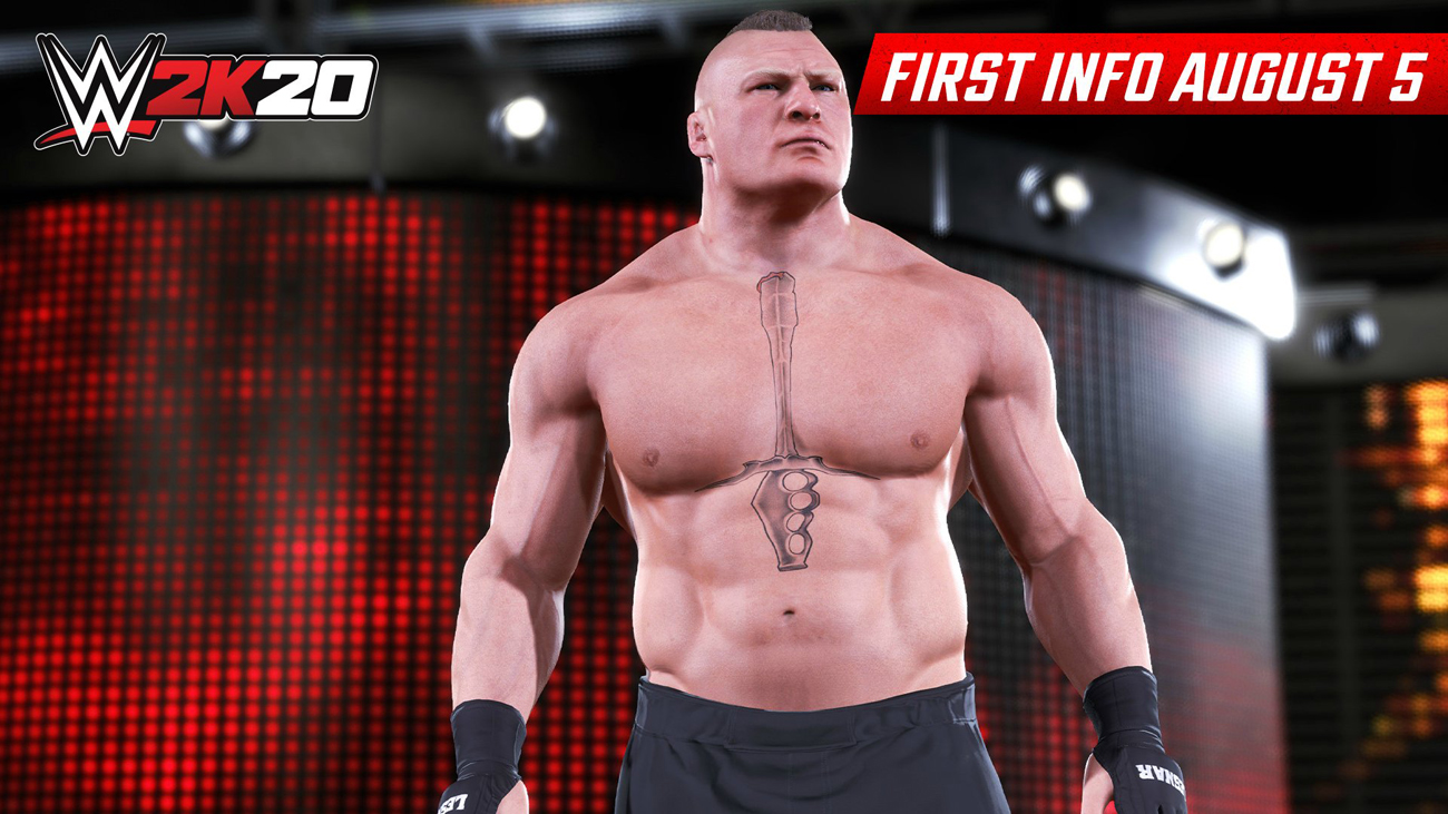 Brock Lesnar in WWE 2K20