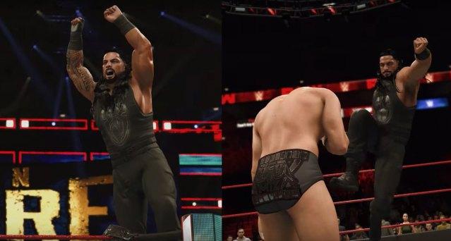 Roman Reigns in WWE 2K20