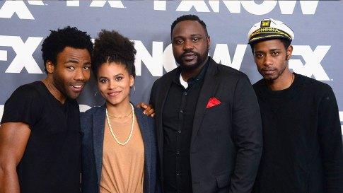 The main cast of Atlanta via trace.tv