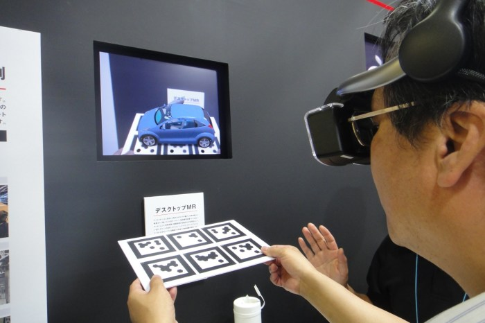 Mixed Reality System From Canon Fuses Real and Virtual Worlds [Video]