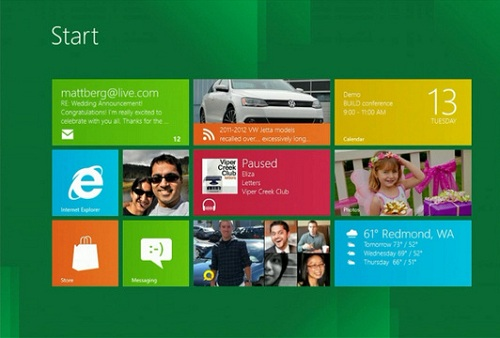 Windows 8 Preview Revealed