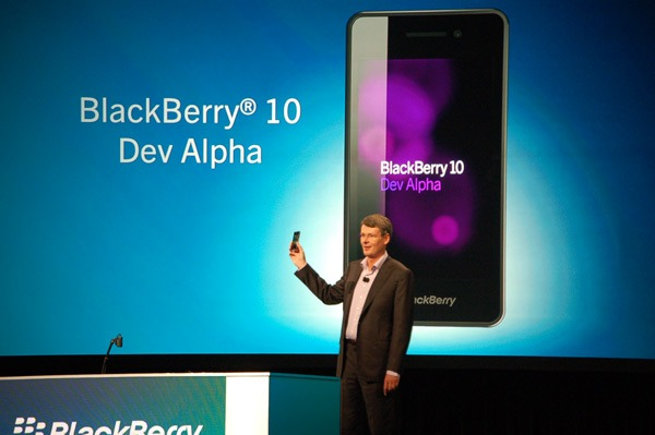 No Keyboards on New Blackberry 10 OS Phones