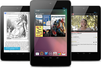 All About The Google Nexus 7 Tablet