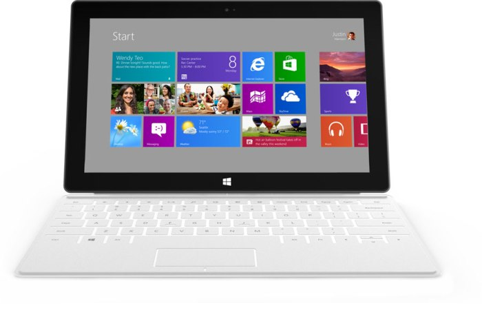 Microsoft Launches New Surface Tablets With Windows 8