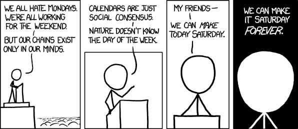 weekend comic