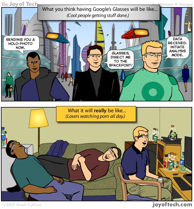 google glasses comic