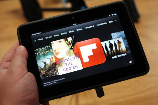 Kindle Fire HD- hands on