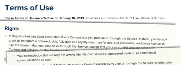 Instagram's New Terms Of Service - What Does It Mean To You?