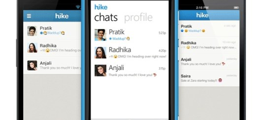 Hike-app-messaging