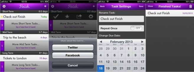 Finish App -2