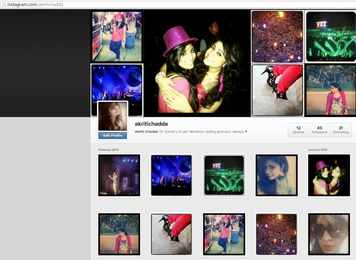 New Instagram Web Interface