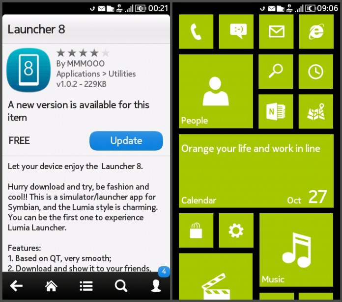 Launcher8 Android