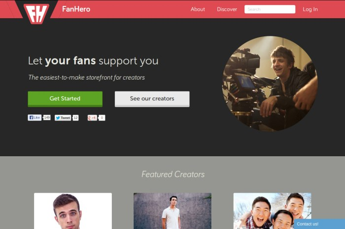 Y-Combinator's FanHero helps Youtubers sell Merchandise to their Fans