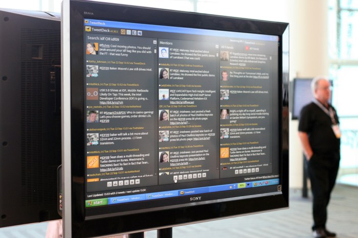 Introduction to the TweetDeck's New Tweet Panel For Sharing