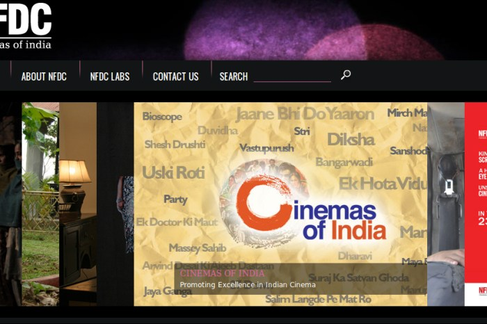 NFDC Launches CinemasOfIndia.com an Online Movie Streaming Site