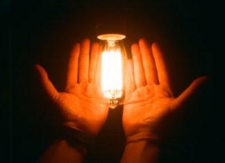 growth hack, ideas, light, hand