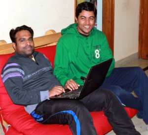 Prashant and Chetan- Team Playerify