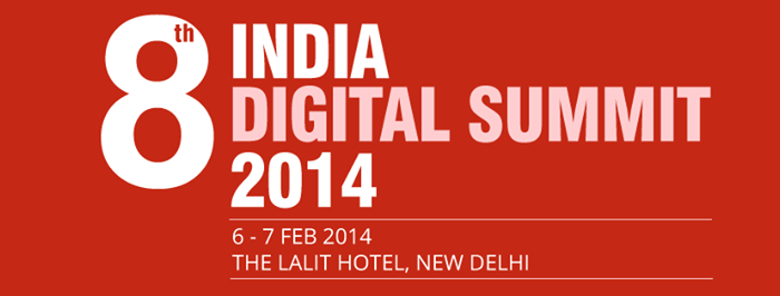 8th INDIA DIGITAL SUMMIT 2014