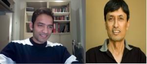 Avin Agarwal and Ashim Roy