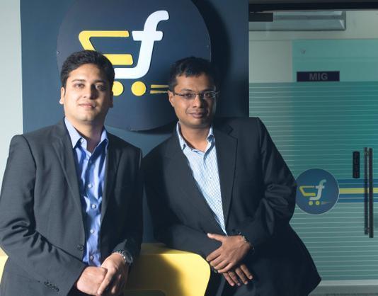 Sachin and Binny Bansal