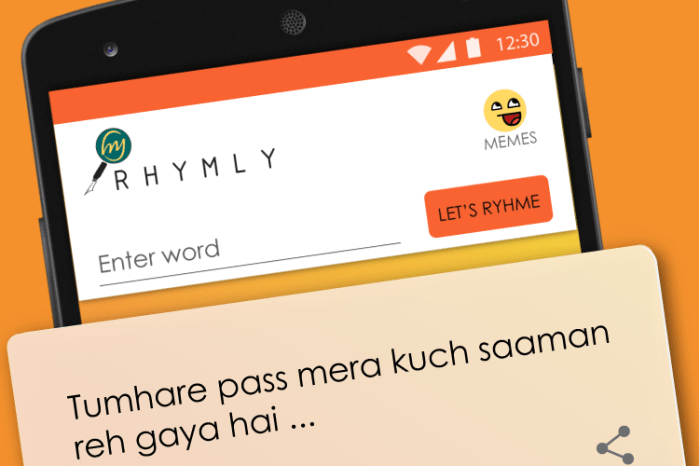 Snap Out of Writer's Block with the Hindi Content Tech Platform Rhymly