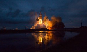 NASA's Orion capsule successfully lifted off from its platform at Cape Canaveral in Florida.