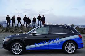 The Delphi equipped Audi Vehicle that recently traveled 3,500 miles across the USA Autonomously.