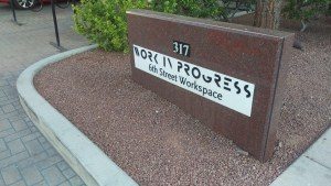 Work in Progress, a co-working space in Las Vegas.