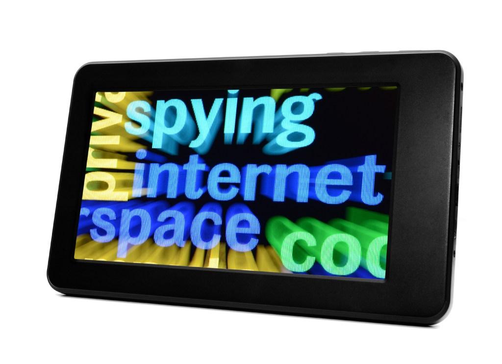 Spying internet