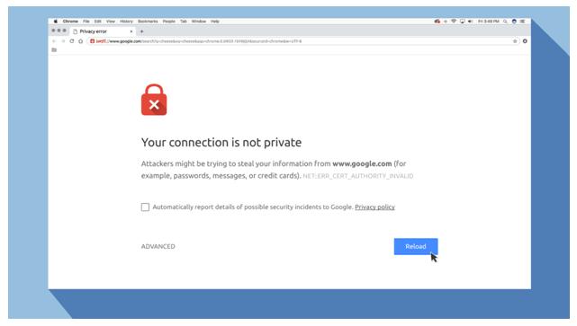 Norton Antivirus Security Error