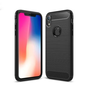 iPhone XR Anti Shock Carbon Stöttålig Skal