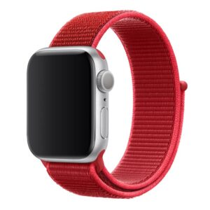 Apple Watch 38mm / 40mm Armband Röd Nylon