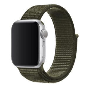 Apple Watch 38mm / 40mm Armband Grön Nylon