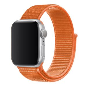 Apple Watch 42mm / 44mm Armband Orange Nylon