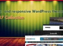 WordPress template free responsive