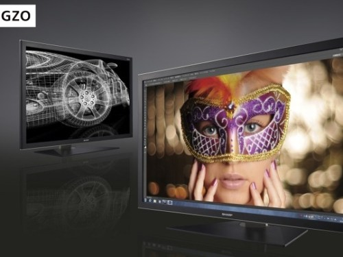 Sharp to Launch Products with IGZO Display Technology in 2013