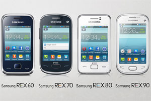 TIE: Samsung launches REX series of 'smart' feature phones