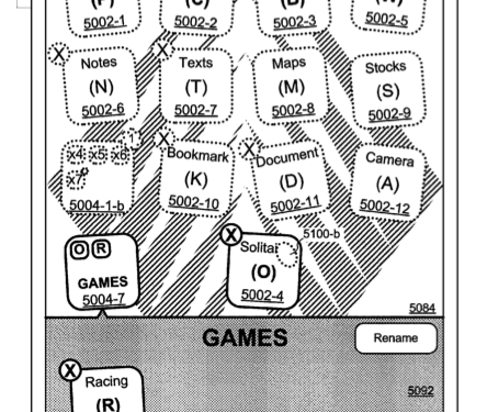 Apple Granted – Device, Method, and GUI for Managing Folders Patent