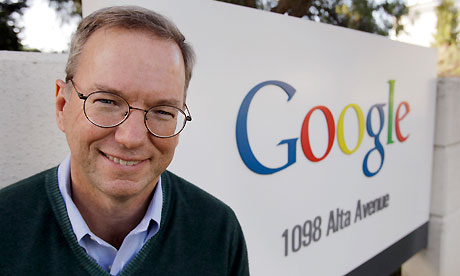 Schmidt: Startups Are The Loser In The Apple vs Google Patent War