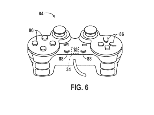 Apple's patent describes the use of a game controller