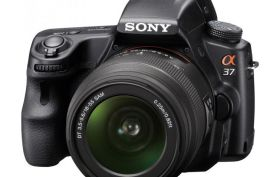 Sony Alpha A37 w/18-55mm Lens Digital SLR Camera