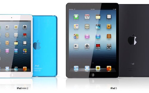 Report: iPad 5 Production to Start in July-August