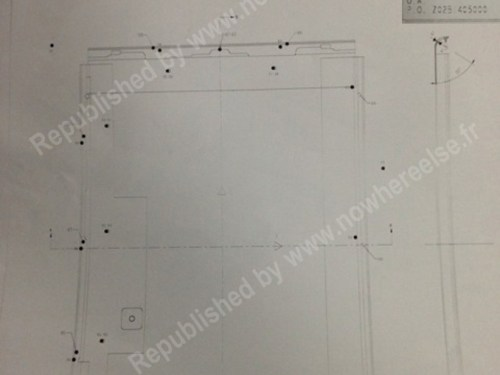 iPad 5 Dimensions Leaked Schematics