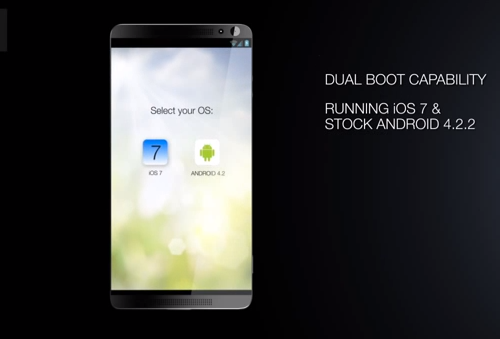 The Ultimate Smartphone Featuring Dual Operating Systems
