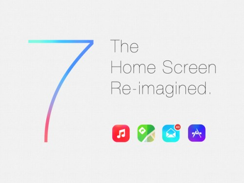 iOS 7 Home Screen Re-Imagined