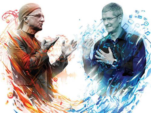 """BillBoard: """"Apple Doesn't Want to Compete — It Wants to Own the Record Business"""""""