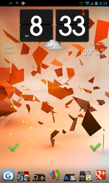 Use Folders to Organize Your Android Homescreen On Ice Cream Sandwich